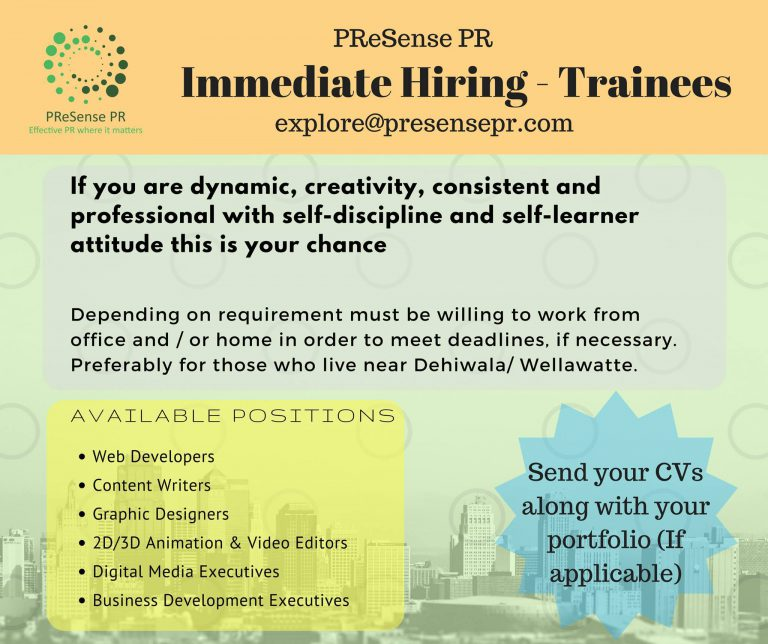 Trainee Vacancies