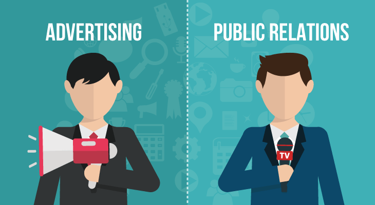 public relations is not advertising presense pr