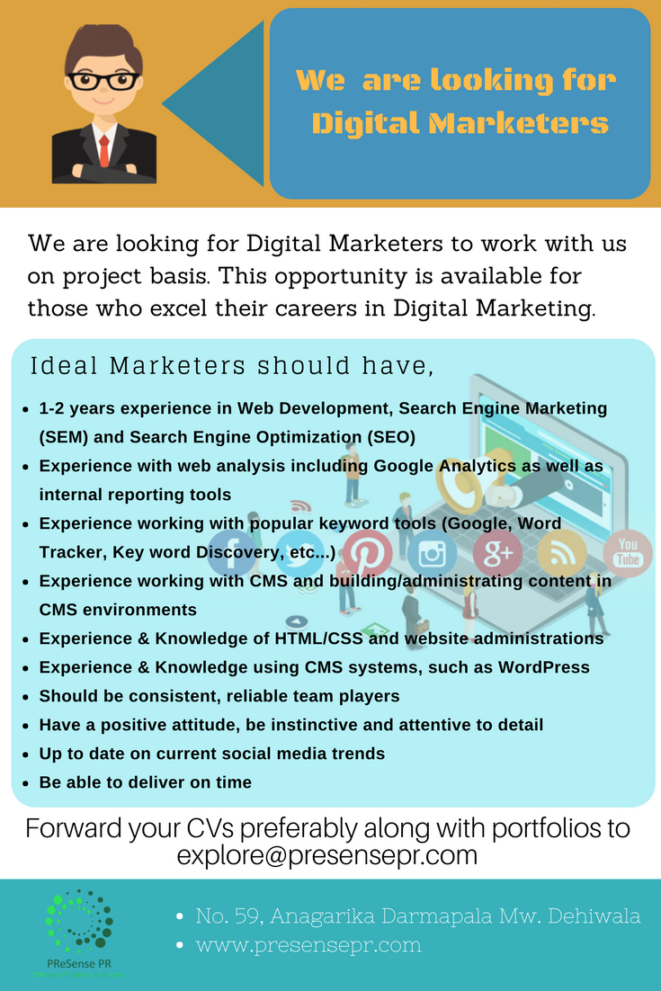 Digital Marketers
